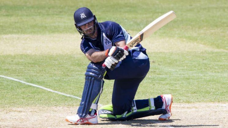 Maxwell shines for Vics as Test aspirants flex muscles