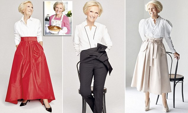 Mary Berry's fashion secrets: Bake Off icon reveals style tips