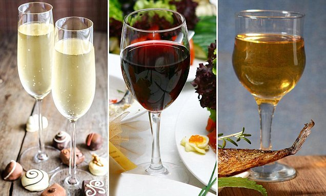 Worst wine and food pairs revealed – including champagne and chocolate