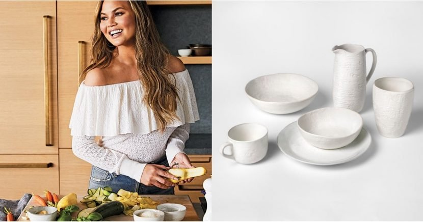 Chrissy Teigen Is Launching a Kitchenware Line at Target, and Spoiler Alert: It's SO Cute