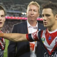 Robinson was never going to give hurt Cronk an early shower
