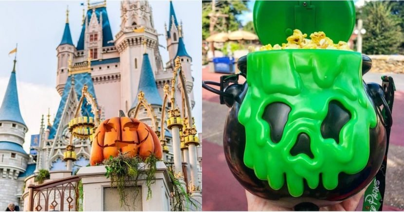 Everything You Can Eat, Do, and See at Disney World For Halloween!