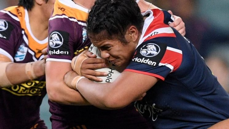 Roosters captain Taufa brushes off Broncos knee targeting tactics