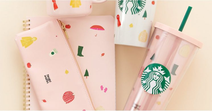 Starbucks Just Released a Fall-Themed Collection With Ban.do, and It's So Cozy!