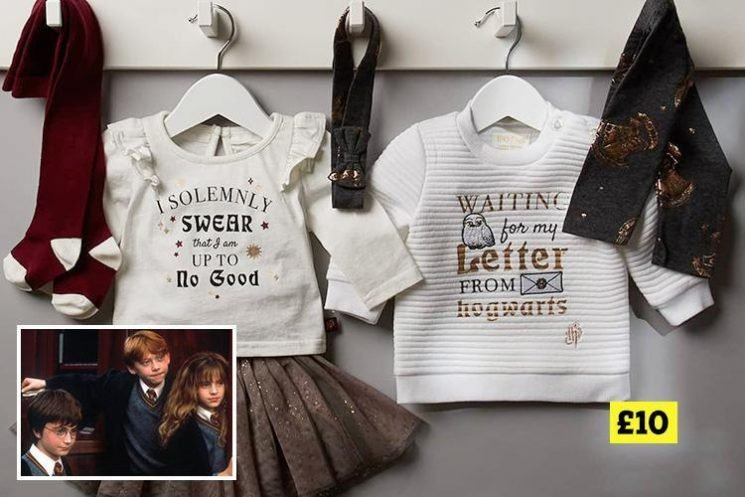 Primark is selling Harry Potter children's clothes priced from £10 – and they'll make a magical Christmas gift