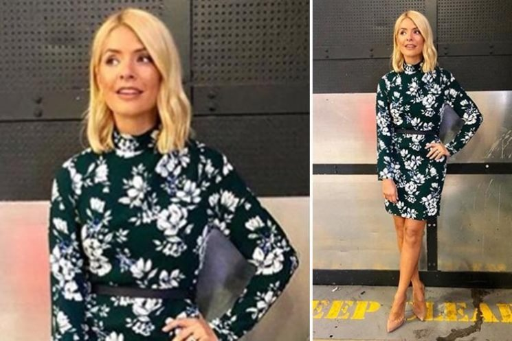 Where does Holly Willoughby's outfit come from today? Here's where you can snap up her £35 Very dress
