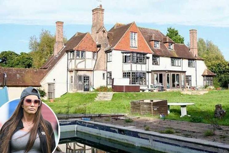 Katie Price has STILL not put her £1.6million mansion on the market despite being desperate for cash