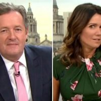 Susanna Reid left stunned as she's told to MARRY Piers Morgan because they'll have 'lots of rows and no sex'