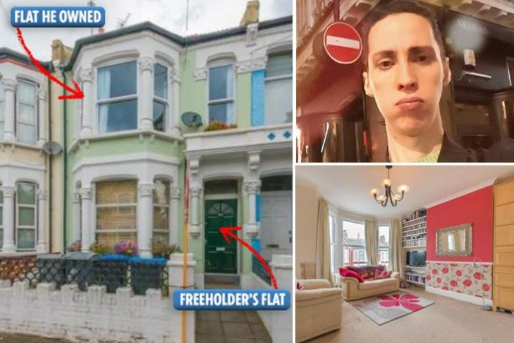 Man is left 'suicidal' after £600k flat HE OWNED is seized 'because he redecorated'