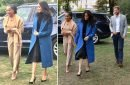 Meghan Markle's clearly inherited mum Doria Ragland's fashion sense as pair look chic at Grenfell charity launch