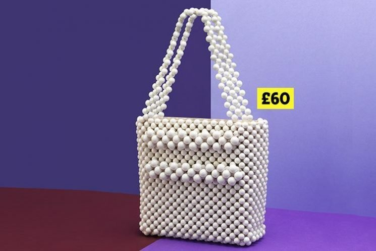 This beaded Mango bag has gone straight to the top our wishlists… and it's a total dupe of a Shrimps £450 designer style