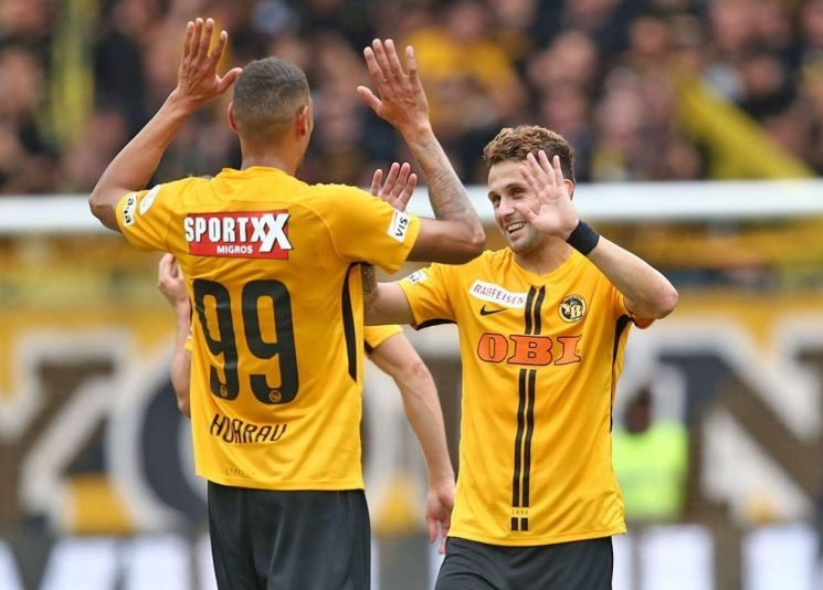 Young Boys smash SEVEN past Swiss rivals Basel after Manchester United defeat