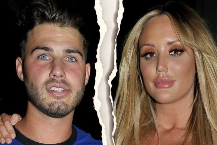Charlotte Crosby and Joshua Ritchie split fears as they unfollow each other on social media hours after she tweets about going their 'separate ways'