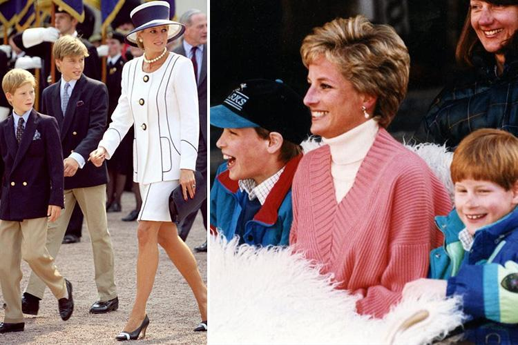Princess Diana, William and Harry's incredible 'Saturday night routine' revealed… and it involves McDonald's and Blind Date