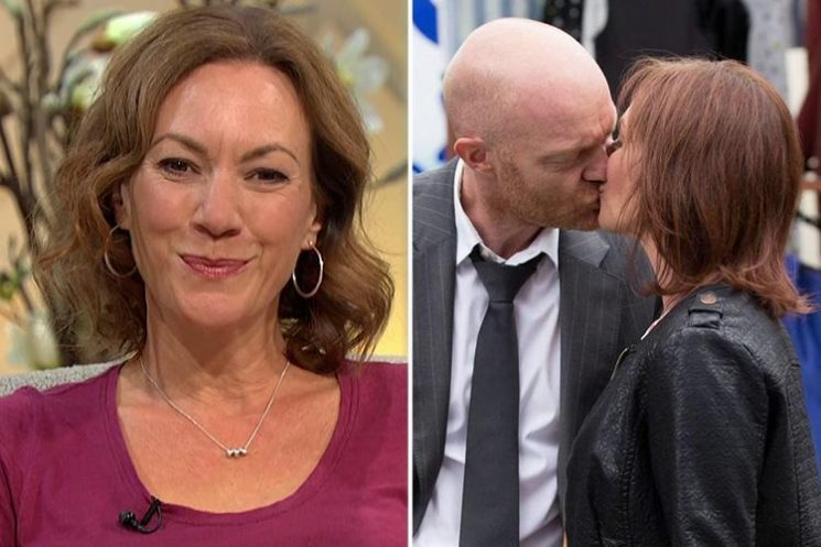 EastEnders star Tanya Franks reveals Max Branning and Rainie's flourishing romance is heading for 'rocky roads very soon'