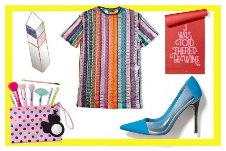 Minnie Mouse brushes and a rainbow top, here's what we're lusting after this week