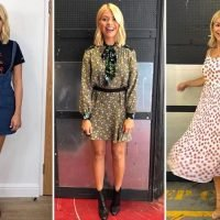 Holly Willoughby ditches affordable high-street labels for designer threads by Sandro and Whistles – as she prepares to launch lifestyle brand
