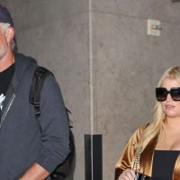 Pregnant Jessica Simpson Shows Off Growing Baby Bump at the Airport: Photos