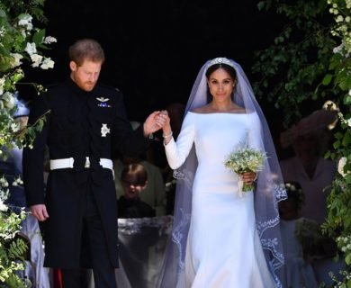 Meghan Markle Reveals a Piece of Her First Date Outfit Was Sewn into Wedding Dress