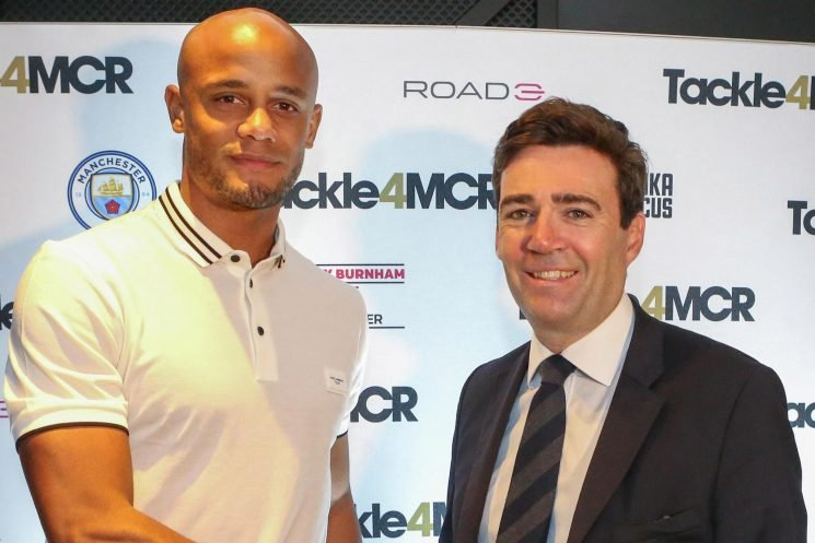 Man City legend Vincent Kompany giving testimonial money to Manchester's homeless in touching charity donation