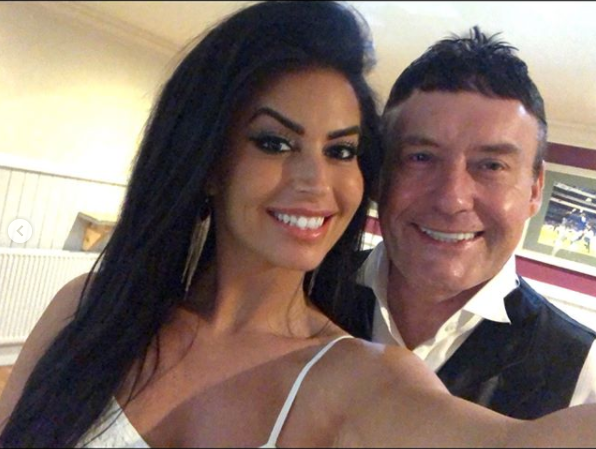 Snooker legend Jimmy White, 56, is dating stunning 32-year-old darts walk-on girl
