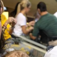 Joanna Gaines Takes Baby Crew Out for His First Football Game: Photo