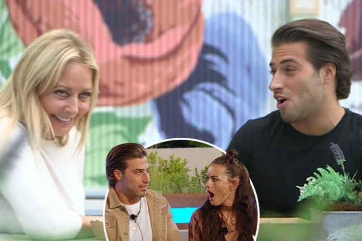 Kem Cetinay hints he made the wrong decision when he coupled up with Amber Davies in Love Island as he gives Carol Vorderman dating advice on her new show