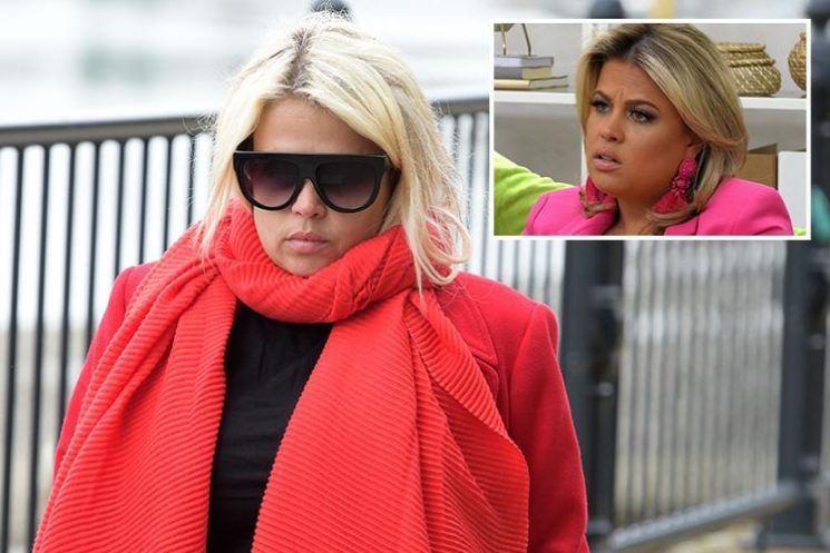 Nadia Essex looks miserable as she's spotted for the first time since she was axed from Celebs Go Dating for being a Twitter troll