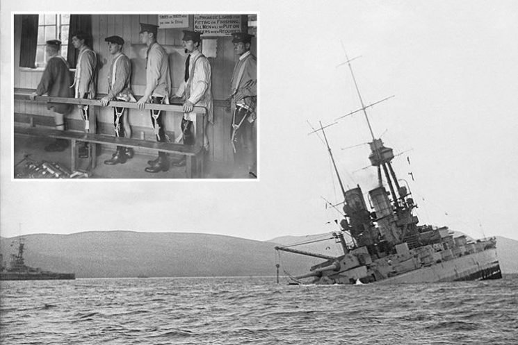 From a sinking German battleship to veterans getting prosthetic limbs rare photos reveal the devastation of WW1