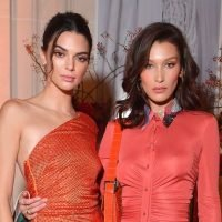 Kendall Jenner And Bella Hadid Take Their Wine To-Go As They Head To A Private Party
