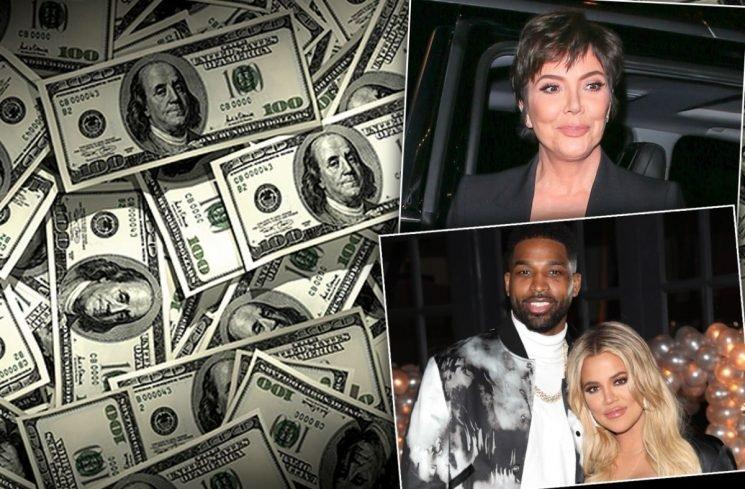 Going For Broke! Khloe Demands Tristan Let Her Mom Kris Jenner Manage His Money