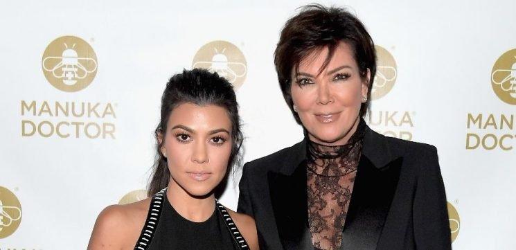 Kourtney Kardashian Poses In A Bikini With Mom Kris Jenner In New Photo