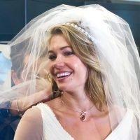 That Was Fast! BIP's Krystal Nielson Tries on Wedding Dresses
