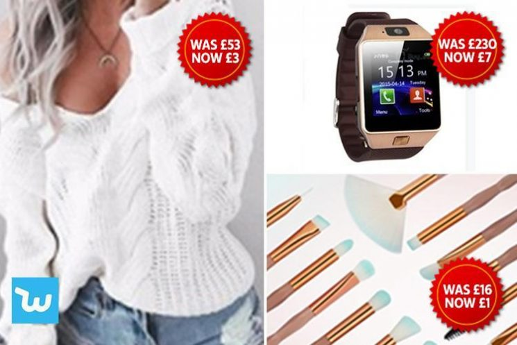 Wish is the top shopping app you've never heard of with smartwatches for £7, jumpers for a fiver and some items FREE … but is it too good to be true?