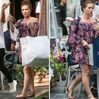 Candice Brown goes wedding dress shopping as she prepares to marry Liam Macaulay
