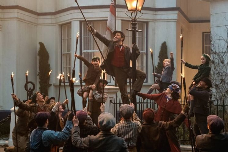 11 Magical Things We Learned From The Set of 'Mary Poppins Returns'