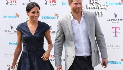 Watch Meghan Markle Flawlessly Give Her First Big Speech As A Royal!