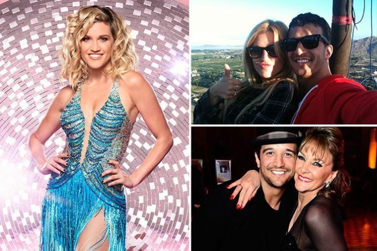 Ex Pussycat Doll Ashley Roberts keeps fling with Strictly's Shirley Ballas' son quiet before appearing on show