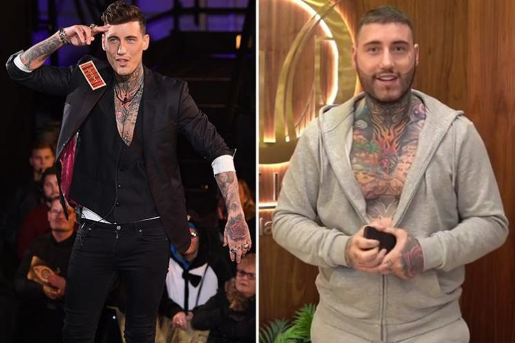 Jeremy McConnell looks fuller in the face as he plots return to modelling