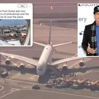 Vanilla Ice caught up in Emirates quarantine drama at JFK Airport as rapper claims 100 passengers sick on jet's bottom floor
