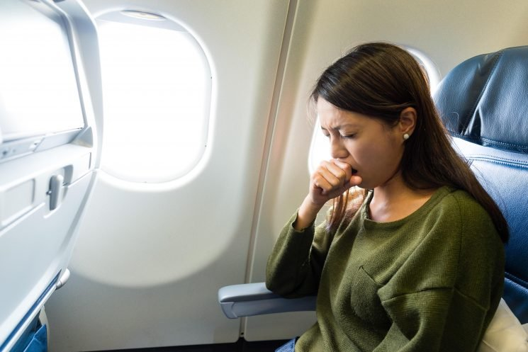 Why bringing mouthwash on board a plane could stop you from getting sick