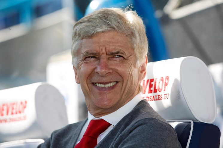 Arsene Wenger makes his return to football – playing a friendly match in memory of Aldo Platini
