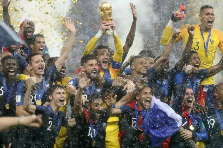 France and Belgium joint-top of Fifa world rankings while England remain sixth in latest update