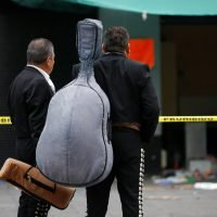 Mexico shooting – Gunmen dressed as mariachi musicians kill five and injure eight at tourist hub