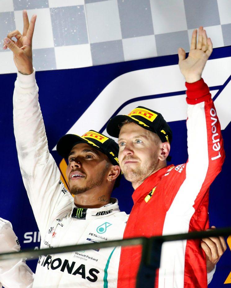 Lewis Hamilton dazzles at Singapore Grand Prix as 'longest race of my life' opens up 40-point gap to Sebastian Vettel