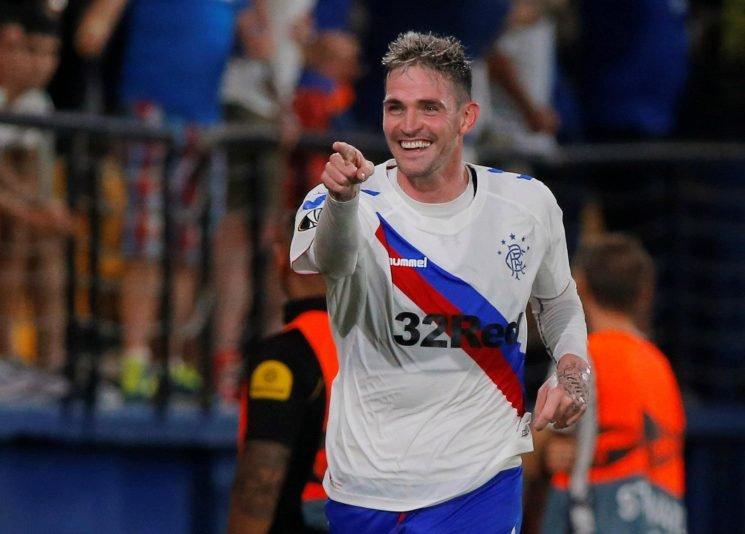 Villarreal 2 Rangers 2: Kyle Lafferty nets first European goal as Steve Gerrard's Gers fight back for draw