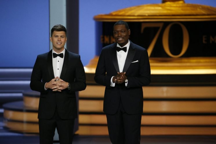 Emmys Review: Colin Jost and Michael Che Can't Liven Up a Flat Show, But the Night's Surprises Really Shine