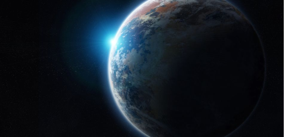 grad school student finds large exoplanet twice the size of earth