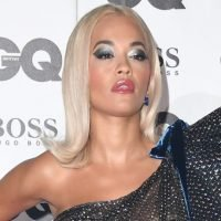 Rita Ora Strikes A Sexy, Casual Pose Wearing Tennis Shoes And Barely There Dress On Instagram
