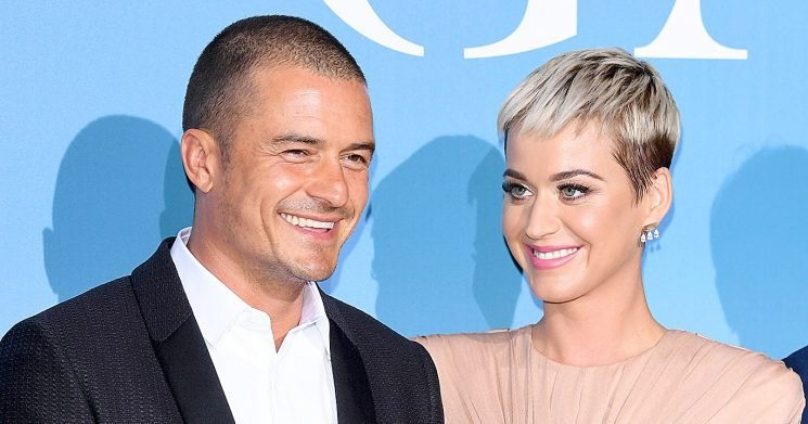 Katy Perry and Orlando Bloom Make Their RedCarpet Debut: Pics